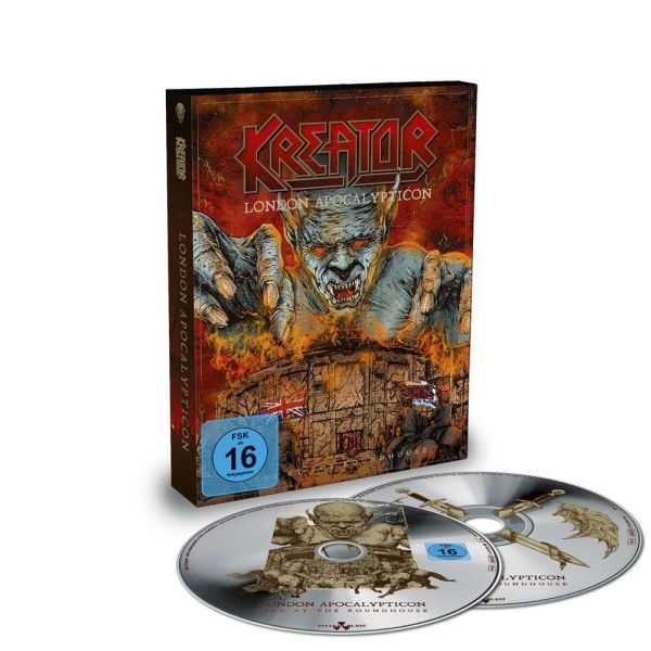 KREATOR - LONDON APOCALYPTICON - LIVE AT THE ROUNDHOUSE (BLURAY+CD DIGI)