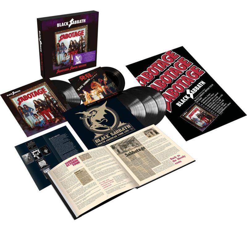 """BLACK SABBATH - SABOTAGE (DELUXE VINYL EDIT. 4LP+7"""" BOX)"""
