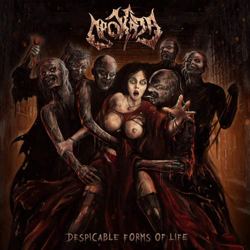 ПРОКАЗА - DESPICABLE FORMS OF LIFE (CD)